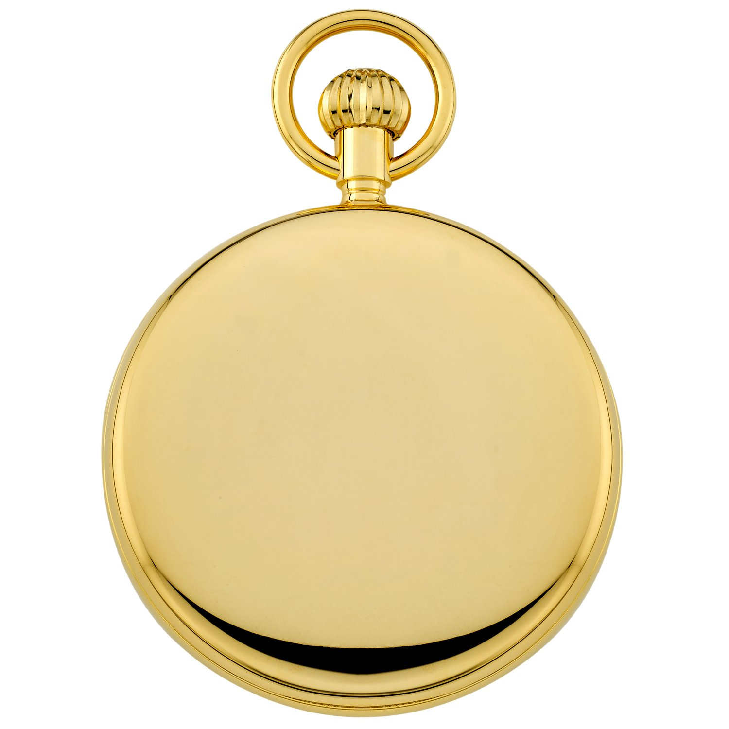 Gotham Men's Gold-Tone Mechanical Hand Wind Railroad Pocket Watch # GWC14104G by Gotham (Image #4)
