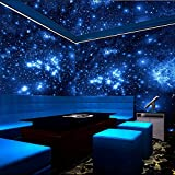 ZLJTYN 240cmX160cm luxury self adhesive wallpaper modern design milky way ceiling wallpaper sofa TV background wall hotel shop wallpaper