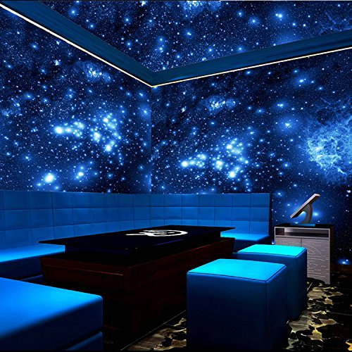 ZLJTYN 240cmX160cm luxury self adhesive wallpaper modern design milky way ceiling wallpaper sofa TV background wall hotel shop wallpaper by ZLJTYN (Image #5)