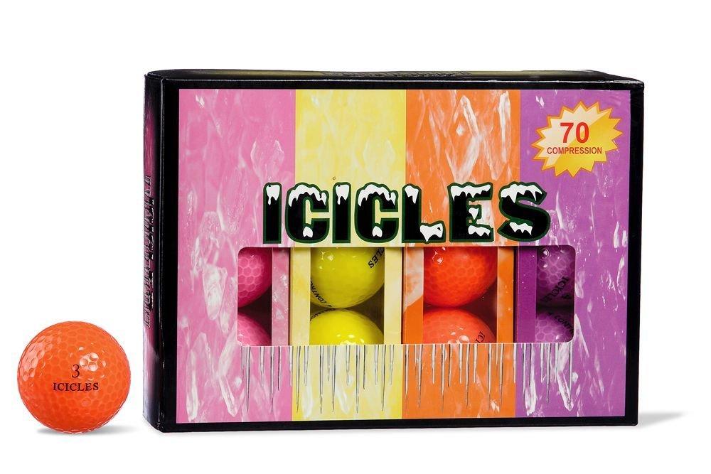 ICICLES Women's V Golf Ball, Multi B00BJOTBVA