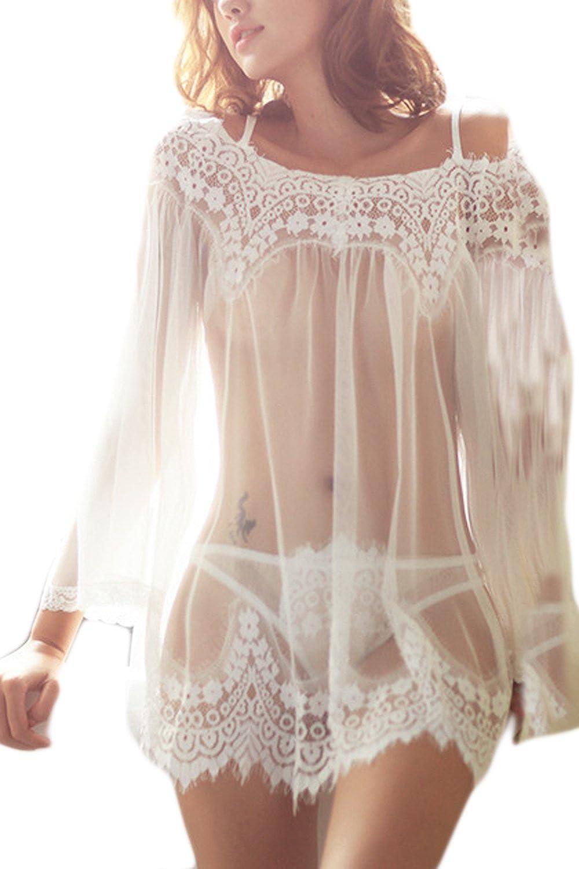 Women Swimsuit Swimwear Sheer Crochet Lace Tunic Dress Net Beach Bikini Cover Up CAQZ2230