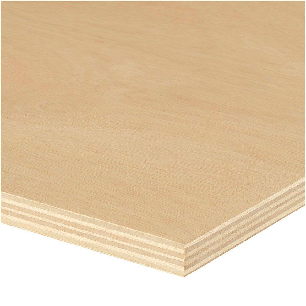 18mm Thick 1220mm x 1220mm Plywood Hardwood Exterior Faces Eucalyptus 4 foot x 4 foot Innovo