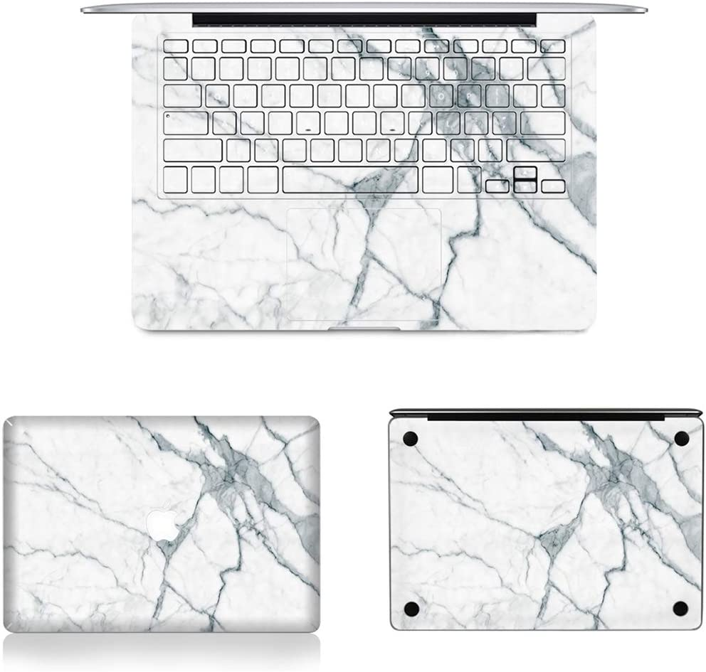 2010-2012 // A1369 2012-2017 Bottom Film Set for MacBook Air 13.3 inch A1466 US Version 419 JIN Suitable for Mac 3 in 1 MB-FB15 Full Keyboard Protector Film Full Top Protective Film