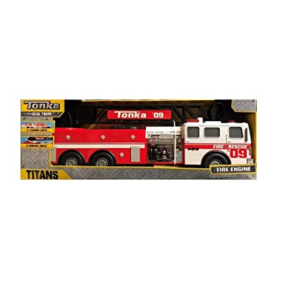 Tonka Real Touch fire Engine Rescue 09: Toys & Games