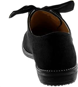 Angkorly Damen Schuhe Derby Schuh schick Schnürsenkel