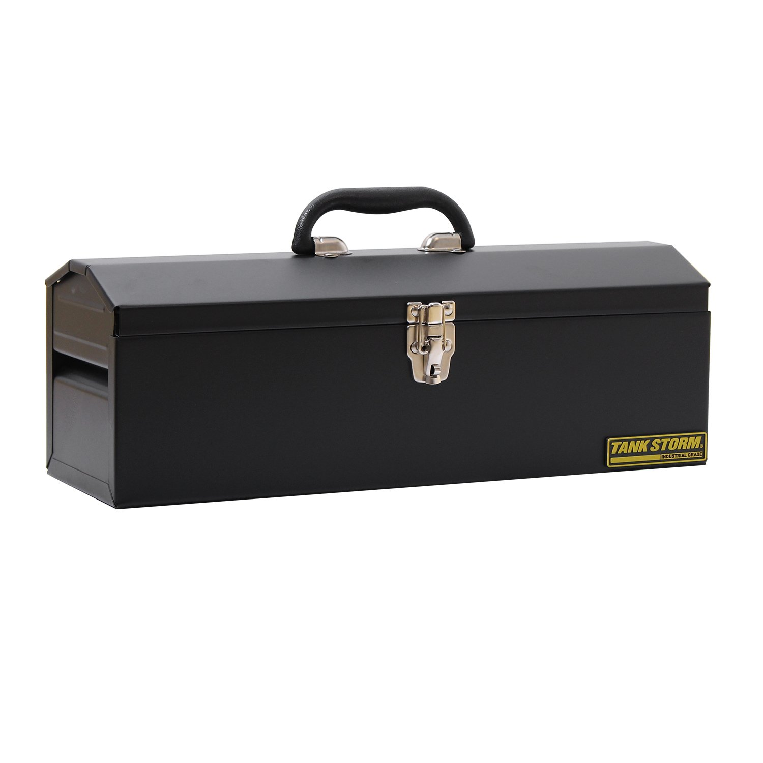 TANKSTORM Portable Steel Tool Box,black (x11)