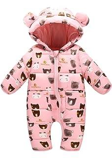 fc2d4459e Aivtalk Unisex Baby Hooded Snowsuit Winter Warm Cotton Puffer ...