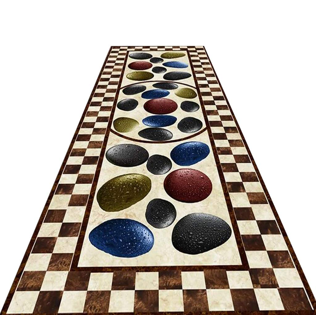 Mbd Hall Entrance Porch European Aisle Stairs Carpet Mats Full Shop Hotel Corridor Carpet (Color : A, Size : 12m)