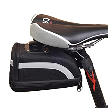 VHFIStj Bicicleta Agua Mountain Road Bike Saddle Bolsa de ...
