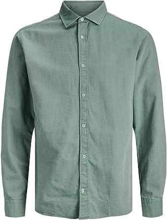 Jack & Jones Jprblufano Shirt L/S Camisa para Hombre: Amazon.es: Ropa y accesorios