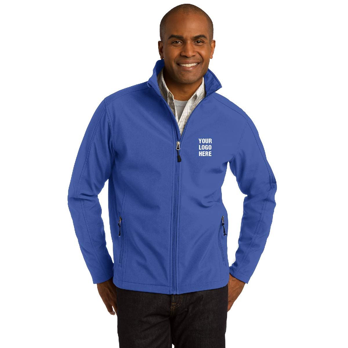 67.16 Each Promotional Jacket with Your Logo Core Soft Shell Jacket 6 Qty