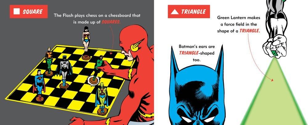 Amazon.com: DC Super Heroes Colors, Shapes & More! (9781935703730 ...