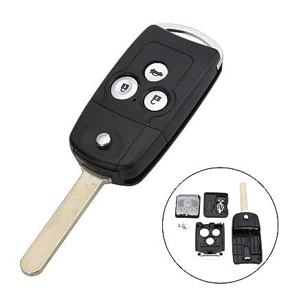 MONNY - Carcasa para llave de coche con 3 botones para Honda ...