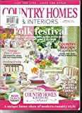 COUNTRY HOMES & INTERIORS MAGAZINE LIVE THE LIFE LOVE THE STYLE JUNE, 2017