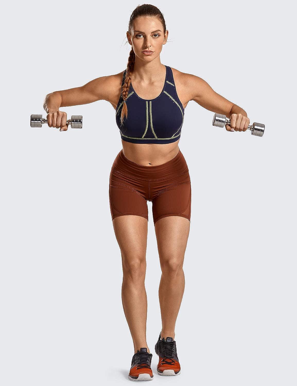 mit Einlagen,Vollschalen,ohne B/ügel SYROKAN Damen Sport BH Ultimate Run