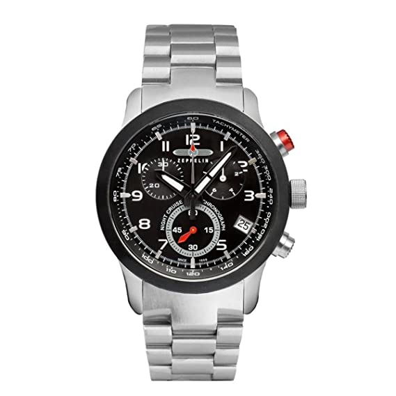 Zeppelin Reloj Unisex de Analogico con Correa en Chapado en Acero Inoxidable 7292M2: Amazon.es: Relojes