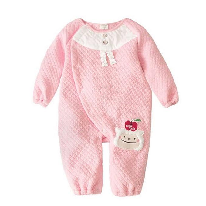 FEOYA - Mono Pelele Pijama Jumpsuit Saco de dormir para Bebés Niños Niñas de algodón con Diseño Animales para otoño primavera 90cm - Rosa: Amazon.es: Ropa y ...