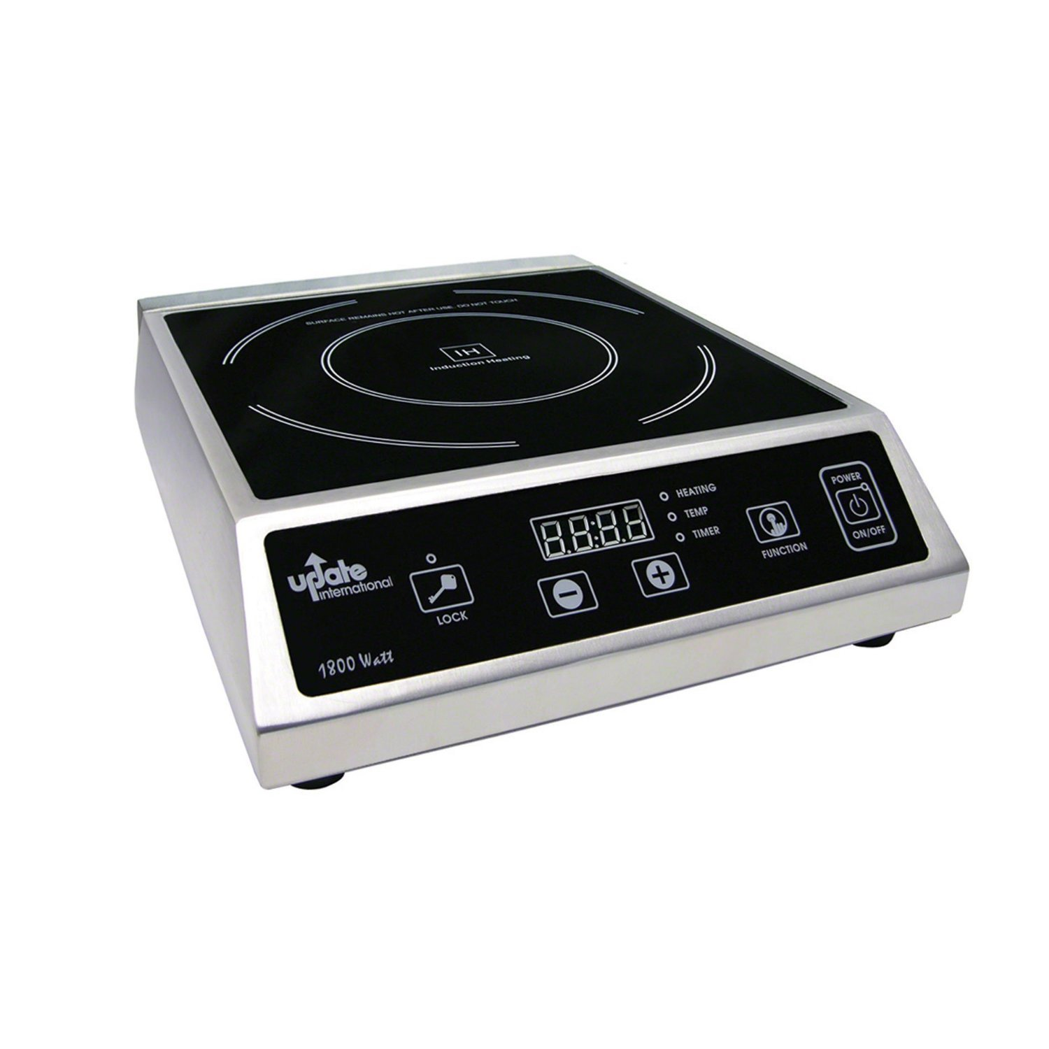 Update International IC-1800WN 120 V Countertop Commercial Induction Cooktop