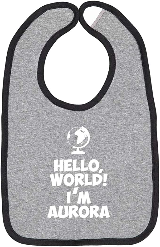 Hello Im Aurora Personalized Name Baby Romper World