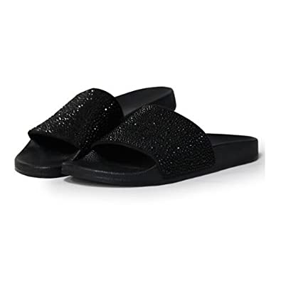 Joddie Haha Sandals 2018 New Women Crystal Beach Slippers Summer Shoes Comfortable Flip Flops Flat Shoes
