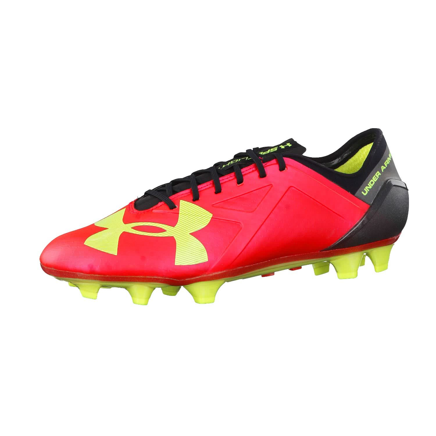 Under Armour メンズ B015D8JY5K 8 D(M) US|Rocket Red/ High-vis Yellow/ Black Rocket Red/ High-vis Yellow/ Black 8 D(M) US