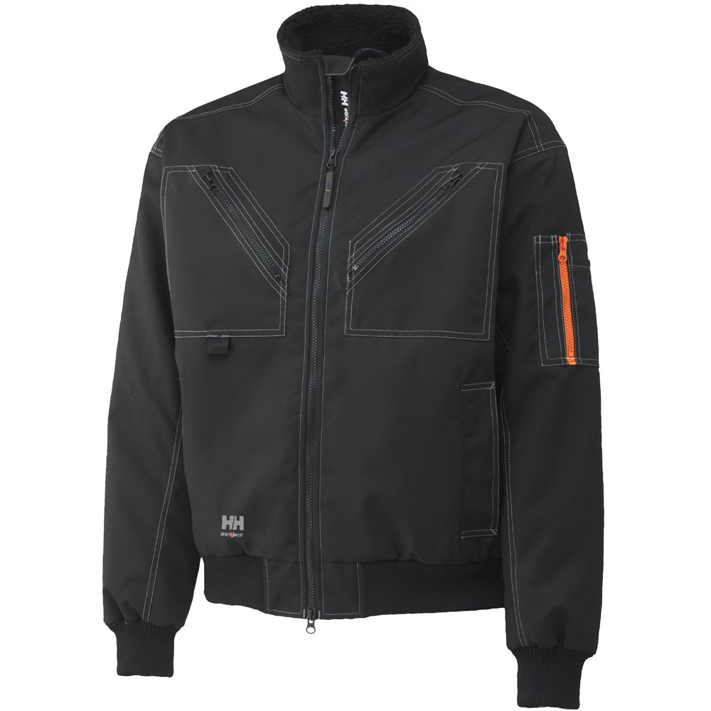 Helly Hansen作業着メンズBergholm Insulated Jacket B00BSRIUYW XL|ブラック ブラック XL
