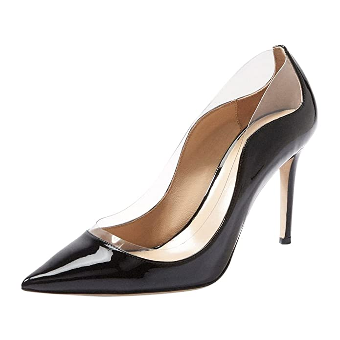 Onlymaker Women Pointy Toe High Heel Slip On Classic Pumps Large Size Shoe:  Amazon.co.uk: Shoes & Bags