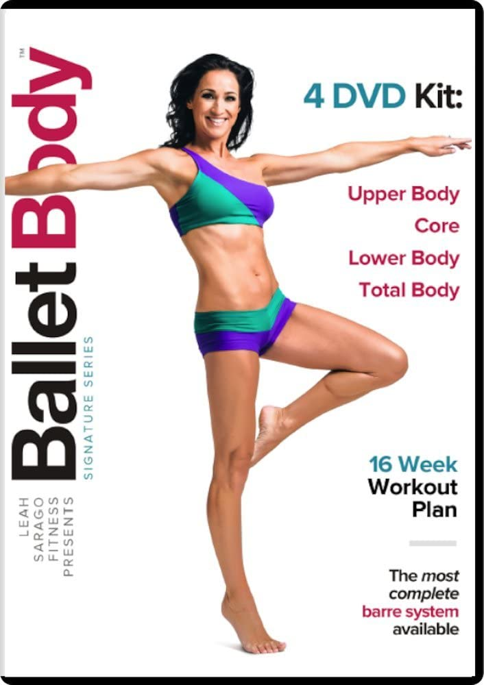 Ballet Body Training System - 4 DVD Kit and Workout Guide