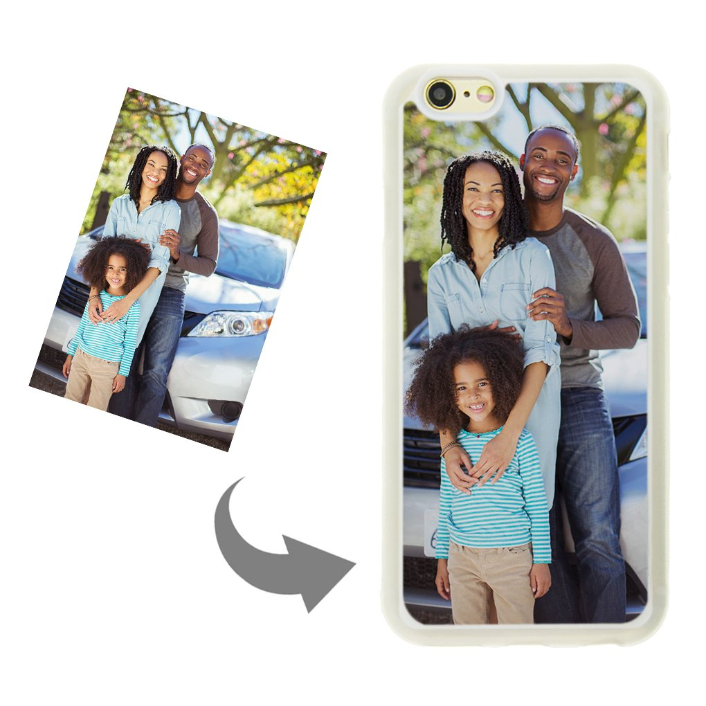hot sale online 69ac3 b5a48 Personalized Custom Phone Case for iPhone 6/6s, DIY Create Your Own Photo  Picture Design Custom Case-TPU Shock Absorbing PC Protector Carrying Case,  ...