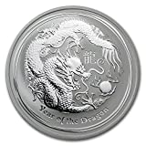 2012 AU Australia 1 oz Silver Year of the Dragon BU 1 OZ Brilliant Uncirculated