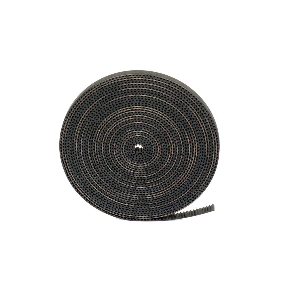 GT2 Timing Belt for 3D Printer, FYSETC 5 Meters (16.4 Ft) Length Open Belt 2mm Pitch 6mm Width Rubber Fiberglass Reinforced for RepRap Prusa i3 3D Printer CNC