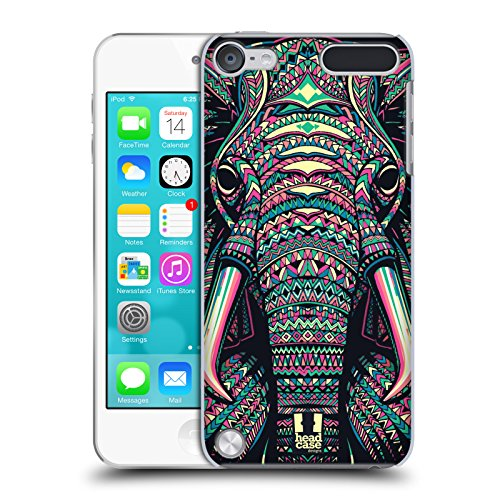Head Case Designs Elephant Aztec Animal Faces 2 Hard Back Case for iPod Touch 5th Gen / 6th Gen