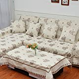 sofa sofa cover Anti slip fabric sofa a full towel A 180x320cm(71x126inch)