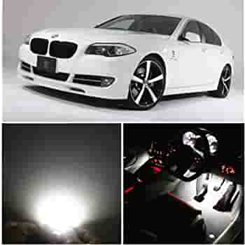 FOR BMW 5 SERIES F10 F11 2009 On 42 BLUE LED INTERIOR ROOF COURTESY REAR LAMP