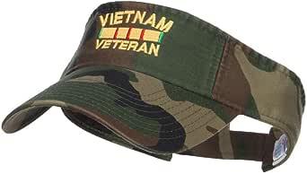 Amazon.com: e4Hats.com Vietnam Veteran Embroidered ...