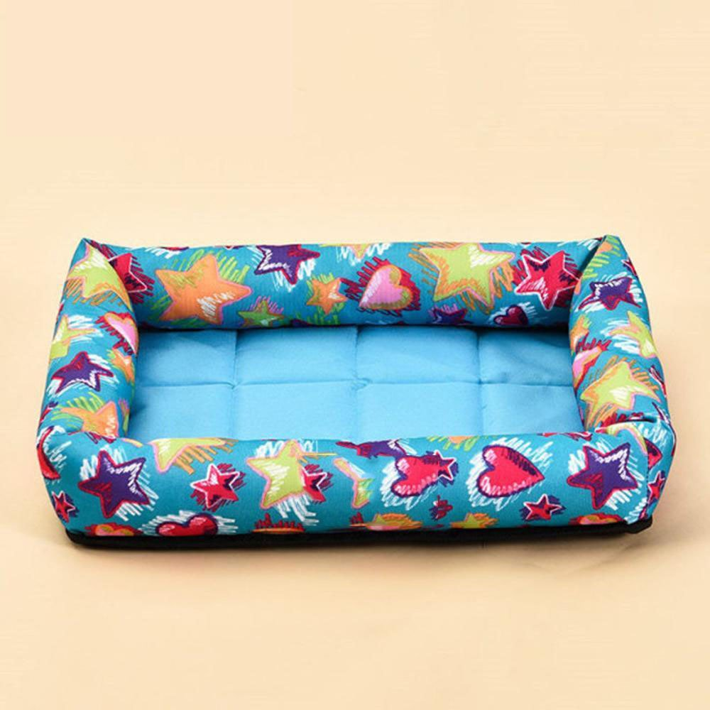 B 60cm50cm7cm B 60cm50cm7cm Daeou Pet mat Pet Cold pad Scratch Resistant Dog House Cooling Waterproof Washable