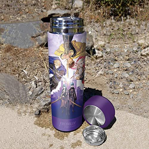 Goddess Vacuum Insulated Stainless Steel Water Bottle 17 Ounce Controller Gear Fire Emblem: Three Houses 500 mL.