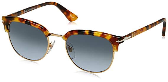 Amazon.com: Persol Men's 0PO3105S Brown/Beige Tortoise/Gradient Grey  Sunglasses: Clothing