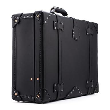 Amazon.com | Saddleback Leather Large Suitcase in Carbon | Suitcases