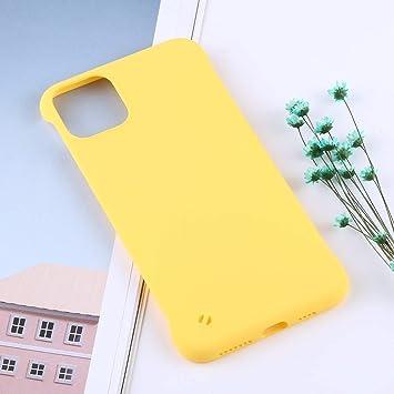 Estuche protector de TPU antideslizante helado Case for iPhone 11 Pro Max Durable (Color : Amarillo): Amazon.es: Bricolaje y herramientas