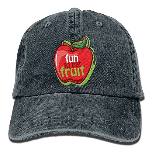 Fun Apple Adult Adjustable Printing Cowboy Hat