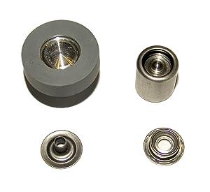 Hoover Press-N-Snap Tool Replacement Dies Stud & Eyelet, 1 Set