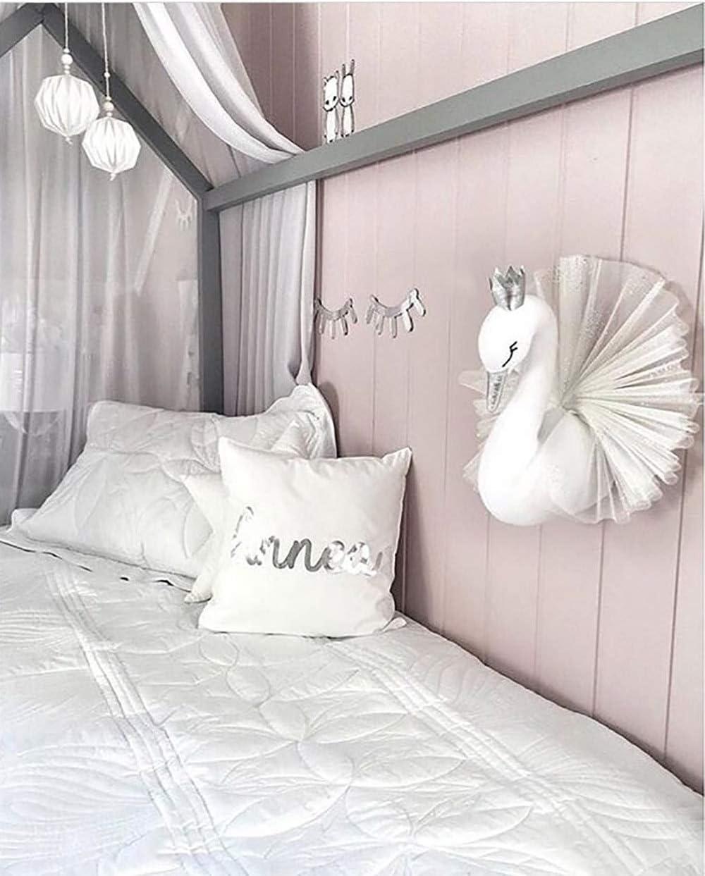 Amazon.com: Decoración para el hogar, pared de cisne 3D ...