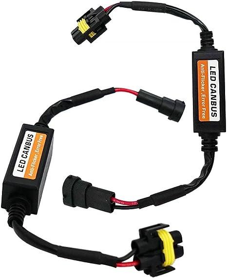 Scheinwerfer Kit für Paar H4 Canbus LED Decoder Lastwiderstand