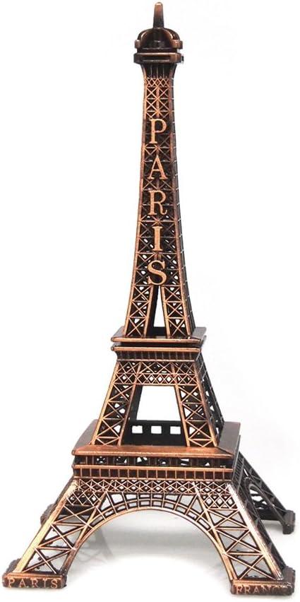 Bronze Eiffel Tower Paris France Statue, 25cm (10-inch)