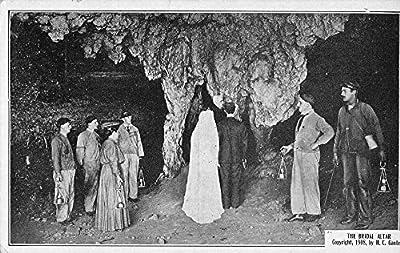 Mammoth Cave Kentucky Bridal Altar Wedding Cavern Antique Postcard K56969