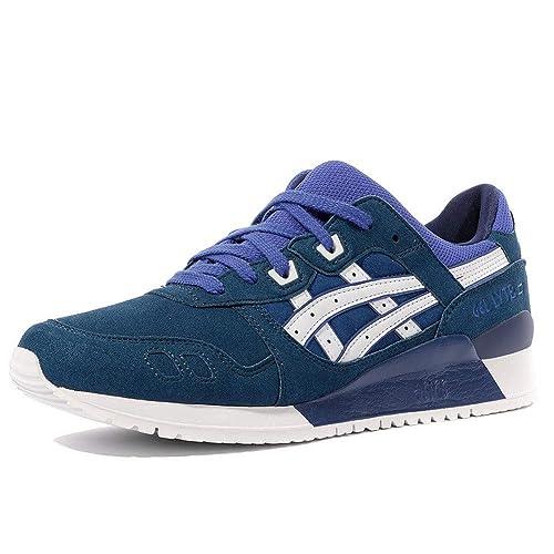 meilleur service c6d7e a5a18 Asics Gel-Lyte III, Sneakers Basses Homme, Bleu Blue/White ...