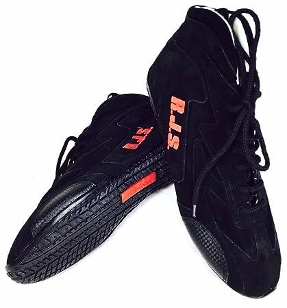 12936312ed8ed RJS SFI 3.3/5 Racing Driving Shoes Black Mens Size 11 / Womens 13
