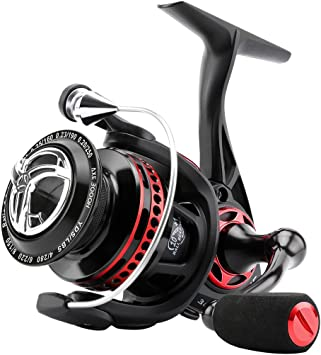 SeaKnight AXE Carretes de Pesca Spinning 6.2:1 Metal Carrete ...