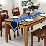 Simple Chinese modern table runner%2FLux